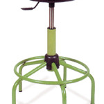 Taburete Mod./TBG Altura Regulable 52/65 cm. Con aro central