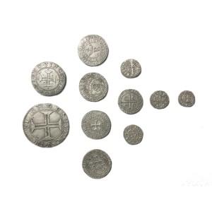 Doblones, Plata, Monedas, Antiguedad, Antiguas,
