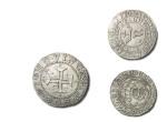 Colección de monedas antiguas.. Doblones de Plata