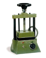 Prensa Vulcanizadora Mod. P 145x120 mm.