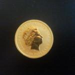 Moneda de Oro de 24 Kt