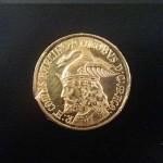 Moneda de Oro de 22 KT
